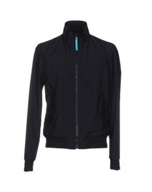 Куртка DUNHILL. Цвет: темно-синий