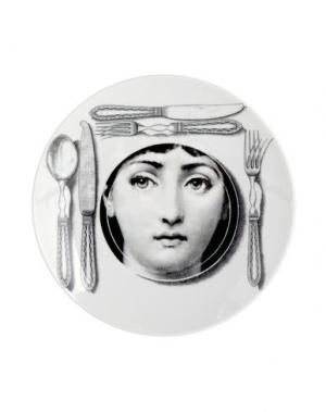Декоративная тарелка FORNASETTI. Цвет: (-)