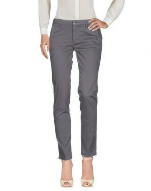 Повседневные брюки SEVEN7. Цвет: серый