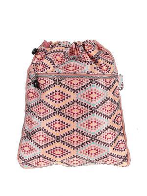 Рюкзак Happy Charms Family. Цвет: розовый, желтый, бордовый, коричневый