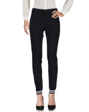 Повседневные брюки MIA SULIMAN. Цвет: черный