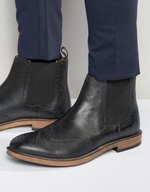 KG Kurt Geiger Ботинки челси с отделкой под броги By. Цвет: черный