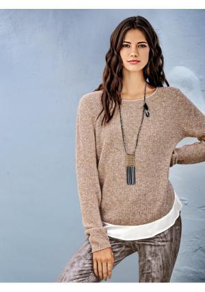 Пуловер 2 в 1 Rick Cardona. Цвет: разноцветный