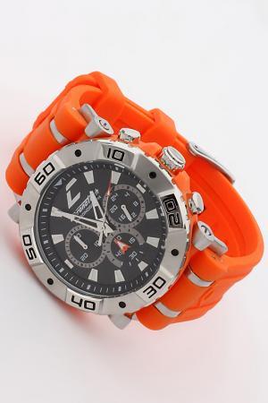 Часы наручные Chronotech. Цвет: оранжевый