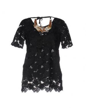 Блузка ANNA RACHELE JEANS COLLECTION. Цвет: черный