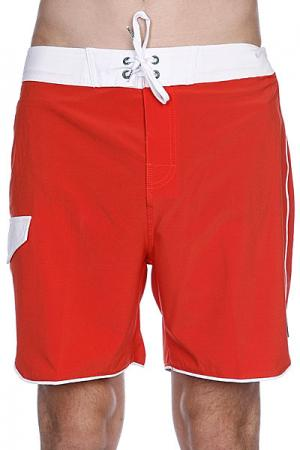 Пляжные мужские шорты  Super Boardie Red Clay Globe. Цвет: красный