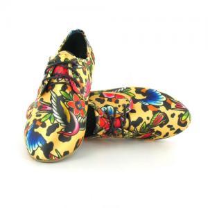 Туфли  Leopard Oxford Iron Fist. Цвет: разноцветный