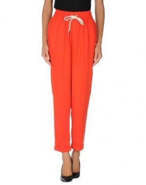 Повседневные брюки EMMA COOK. Цвет: красный