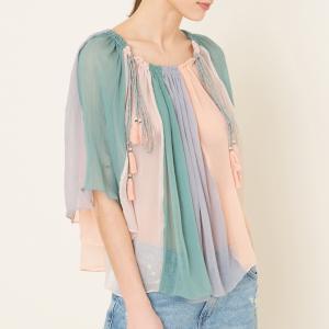 Блузка CLEO ANTIK BATIK. Цвет: разноцветный