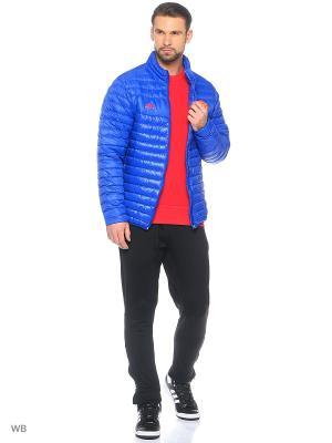 Куртка Manchester United Light Down Jacket Adidas. Цвет: синий, красный