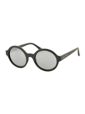 Солнцезащитные очки MEGAPOLIS. Цвет: темно-серый