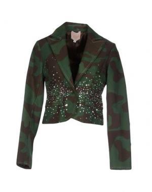 Пиджак TRUST TOILETTE. Цвет: зеленый-милитари