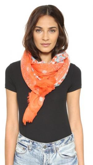 Ажурный шарф Quilt YARNZ