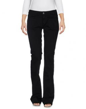 Джинсовые брюки SINÉQUANONE. Цвет: черный