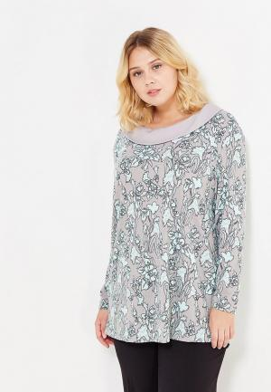 Блуза Silver String. Цвет: серый
