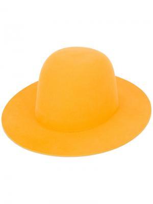 Шляпа Sesam Études. Цвет: жёлтый и оранжевый
