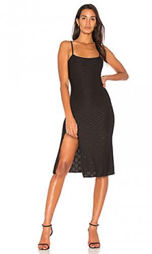 Платье hazel De Lacy. Цвет: черный