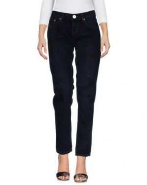 Джинсовые брюки ONE x ONETEASPOON. Цвет: черный