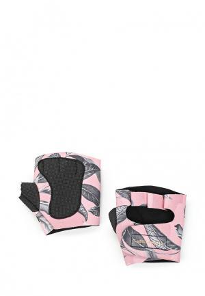 Перчатки для фитнеса Labellamafia. Цвет: розовый