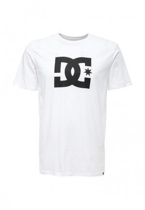 Футболка DC Shoes. Цвет: белый