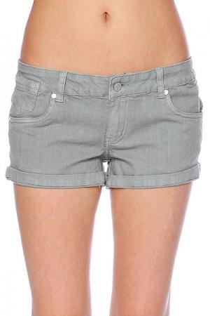 Шорты джинсовые женские  Stone Short Grey Ezekiel. Цвет: серый