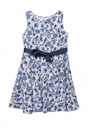 Платье Blukids. Цвет: голубой