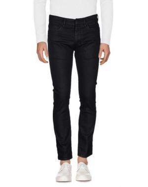 Джинсовые брюки RING. Цвет: черный