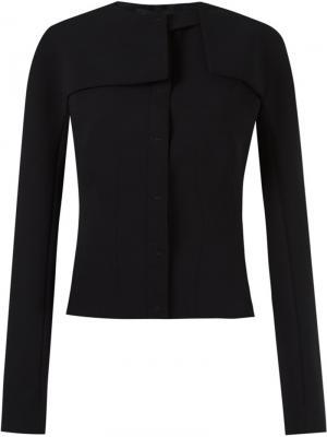 Removable sleeves jacket Gloria Coelho. Цвет: чёрный