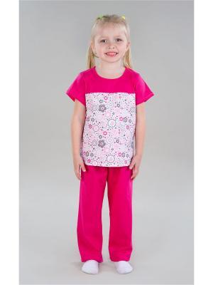 Пижама Letto. Цвет: розовый