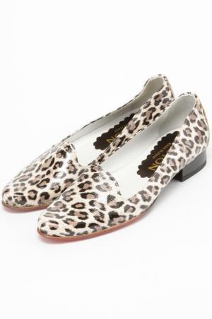 Туфли Bouton. Цвет: леопардовый