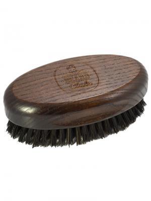 Щётка для бороды и волос головы KayPro. Цвет: коричневый, темно-красный