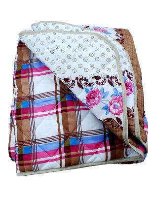 Одеяло Овечья шерсть 200х220. La Pastel. Цвет: молочный, голубой, малиновый