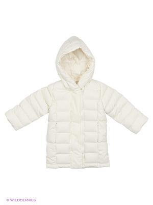 Куртка ЕМАЕ. Цвет: белый
