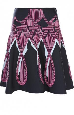 Вязаная юбка Peter Pilotto. Цвет: розовый