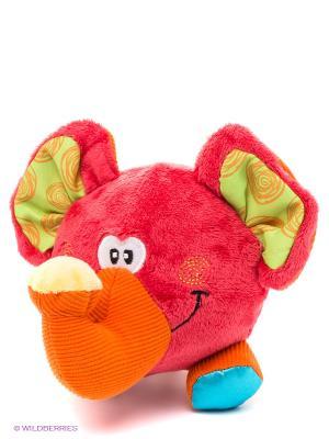 Мягкая игрушка Слоник-хохотун Playgro. Цвет: малиновый