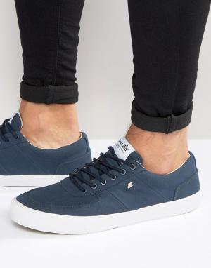 Boxfresh Темно-синие кроссовки Ackroyd. Цвет: синий