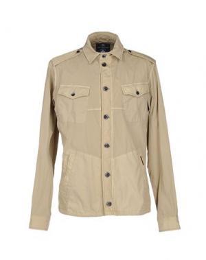 Куртка NEW ENGLAND. Цвет: бежевый