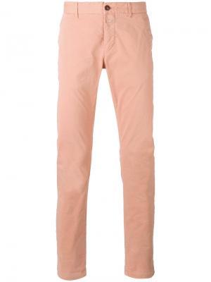 Классические брюки Closed. Цвет: розовый и фиолетовый