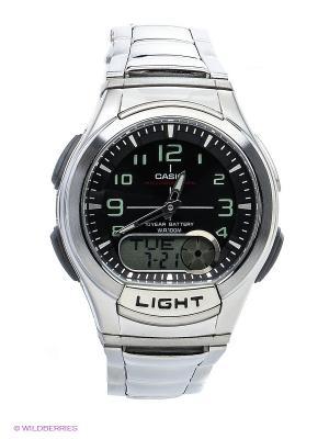 Часы Casio AQ-180WD-1B. Цвет: черный