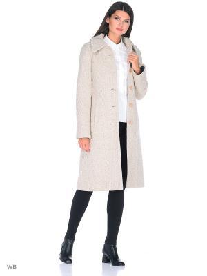 Пальто Fart Favorita. Цвет: бежевый