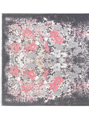 Палантин Labbra. Цвет: серый, розовый