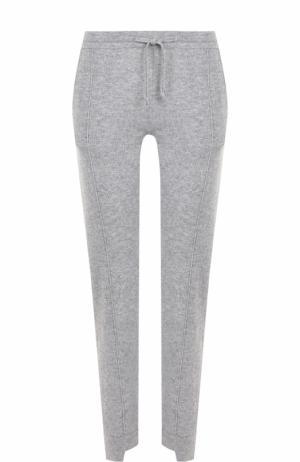 Кашемировые брюки прямого кроя FTC. Цвет: серый