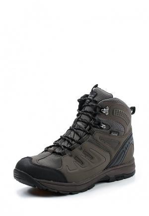 Ботинки трекинговые Icepeak. Цвет: коричневый