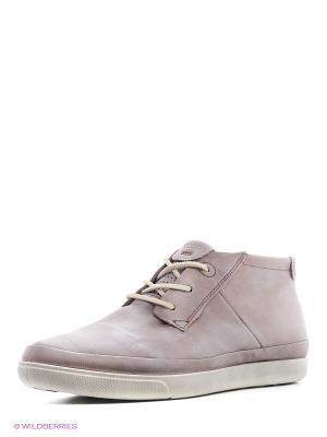 Ботинки ECCO. Цвет: серый, бледно-розовый, серый меланж