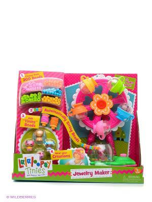 Игровой набор Lalaloopsy Карусель  для создания украшений из бусинок. Цвет: розовый