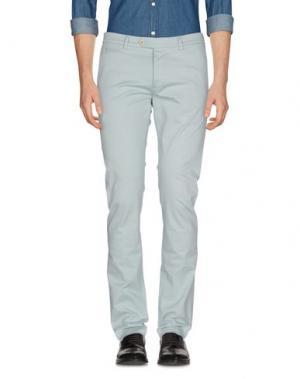 Повседневные брюки PAOLONI. Цвет: светло-зеленый