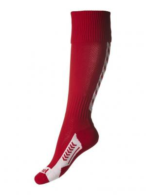 Гетры BEE AUTHENTIC FOOTBALL SOCK HUMMEL. Цвет: красный, белый