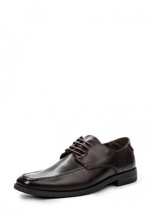 Туфли Malvern. Цвет: коричневый