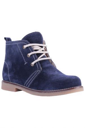 Ботинки INCI. Цвет: синий