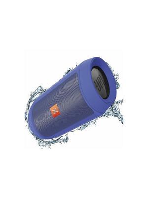 Портативная акустика  JBL Charge 2+ (синяя). Цвет: синий